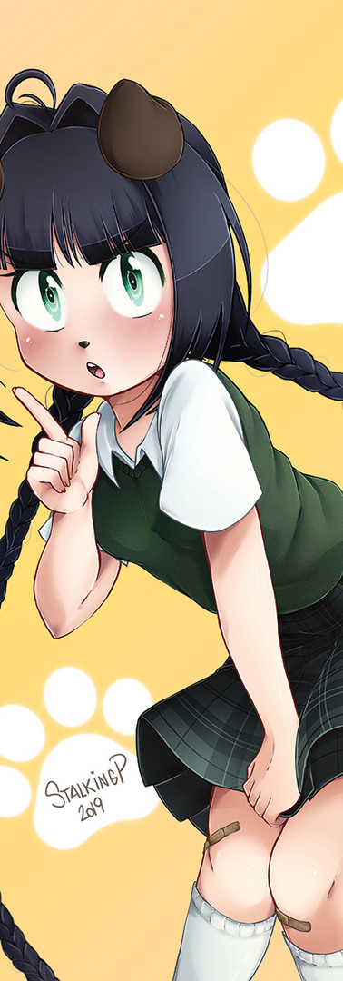School Uniform + dog form (2nd comic)