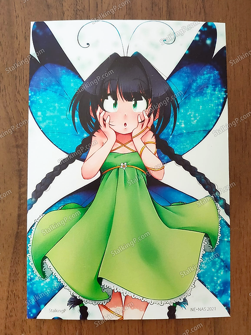 ORIGINAL POSTCARD - Butterfly Romina postcard (renewal ver.)