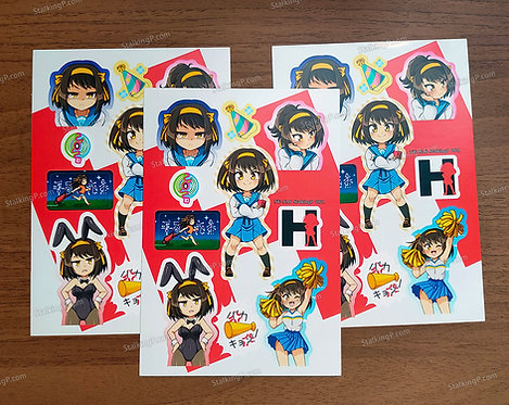 [Limited] Haruhi Stickers (Term 048 - FEB21)