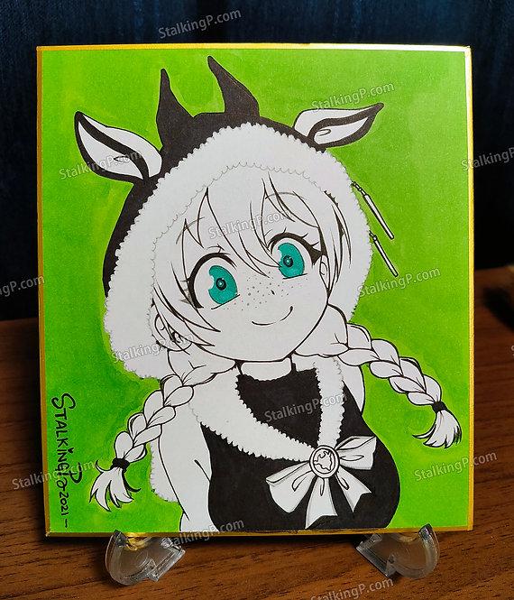 Mini Shikishi - Emma Verde from Love Live!