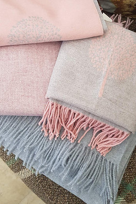 Supersoft tasseled extra large cashmere blend scarf