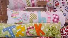 handmade personalised children's pillows