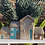 Thumbnail: Cream, brown and blue row of 4cottages plant pot