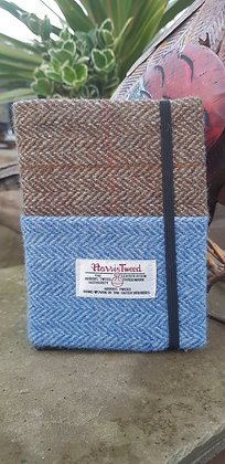 One-off handmade book cover and book.  A6 Size