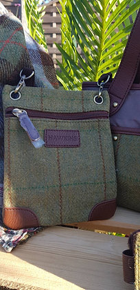 Hawkins traditional tweed, small cross body bag