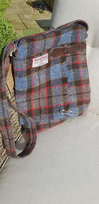 One-off handmade cross body bag, kilt style