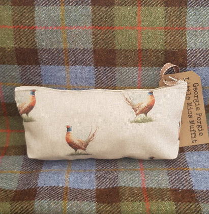 Handmade pheasantcase