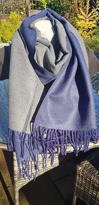 Supersoft tasseled extra largecashmere blend scarf