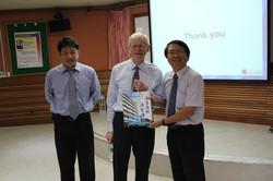 Dr. Bixby、陳凱瀛教授、陳良毅總經理