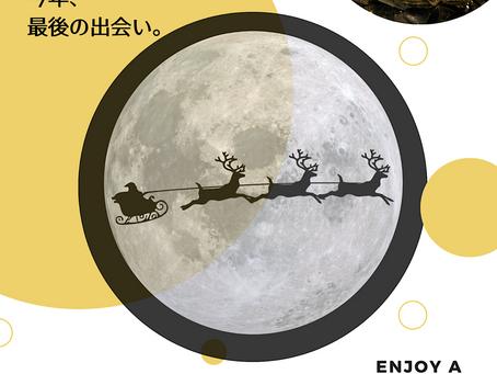 今年、最後の出会い。『クリスマスパーティ』開催します。