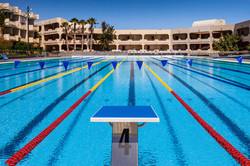 Pool Bahnen Trainingslager Lanzarote