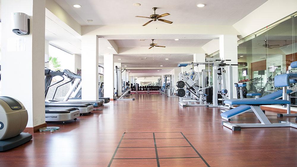 Fitnessstudio Trainingslager Kanaren
