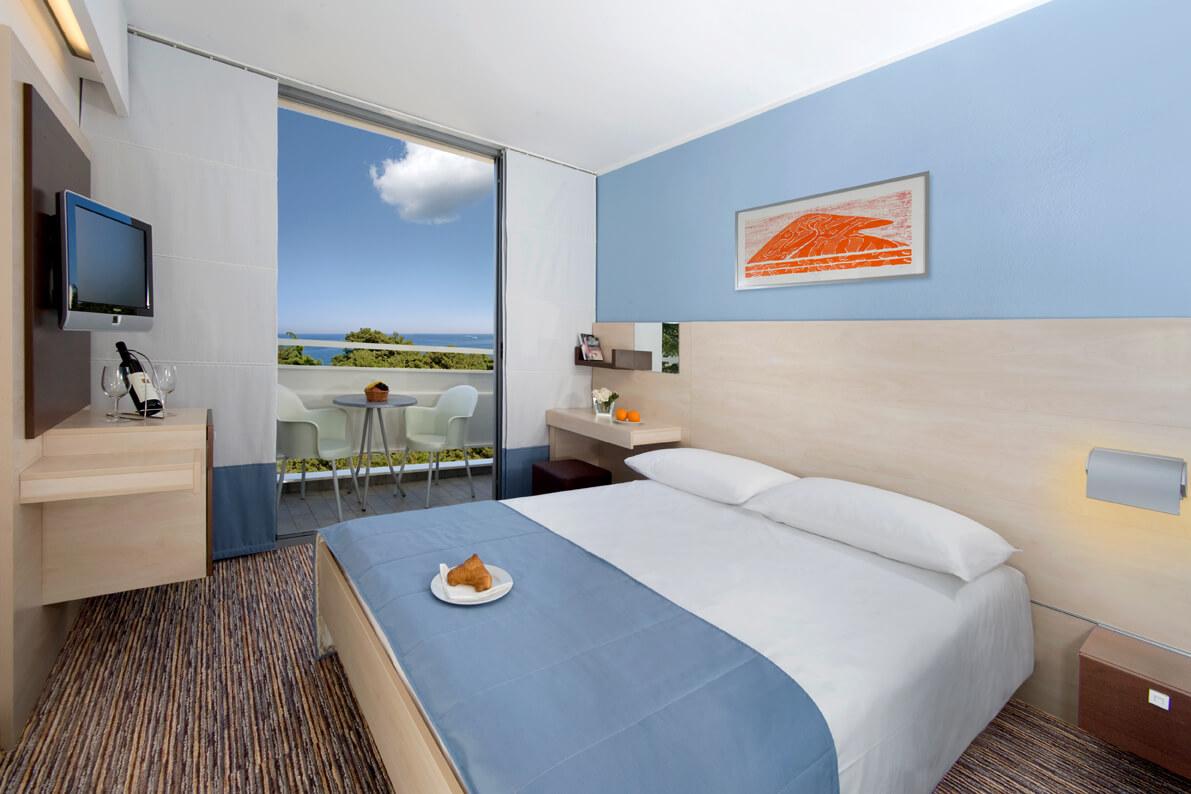 Hotelzimmer Triathlonschule Kroatien