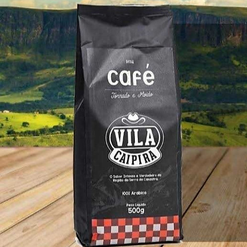 Café Vila Caipira torrado e moído 500g