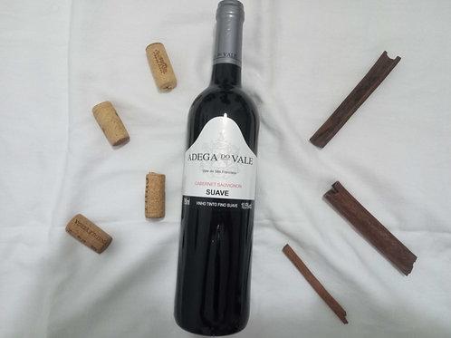 Vinho Adega do Vale Cabernet Sauvignon Suave 750ml