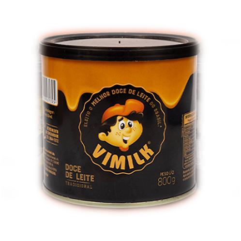 Doce de leite Vimilk lata 800g