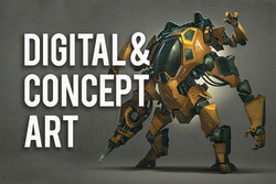 OnlineWC-Digital and Concept Art