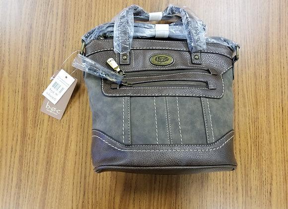 BOC Born Concept Leather Handbag in Chocolate