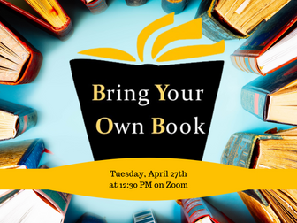 Bring Your Own Book