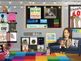 Storytime Bitmoji Room