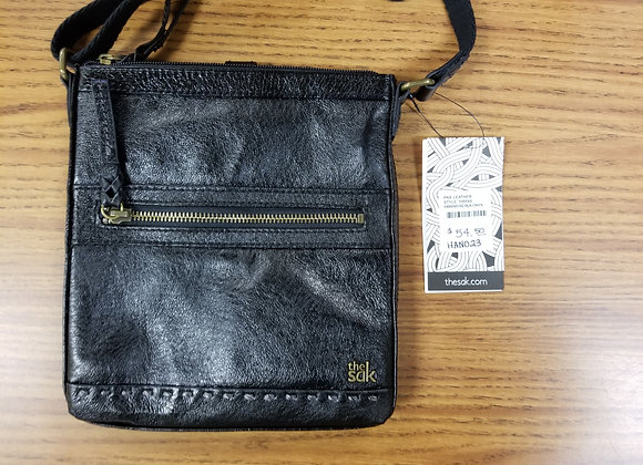 The Sak Black Leather Handbag