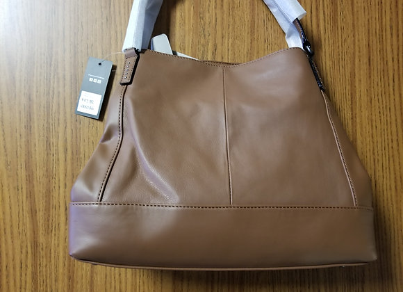 Tignanello Brown Leather Handbag