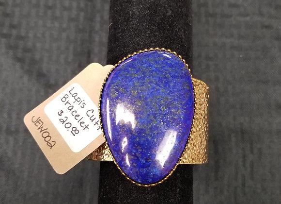 Lapis Lazuli Cuff Brazelet