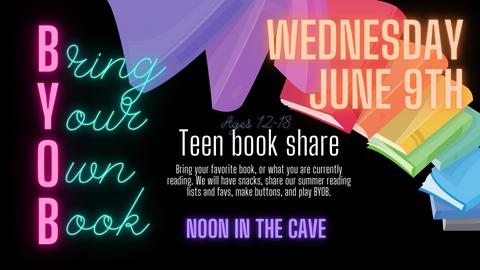 Teen Book Share - BOYB