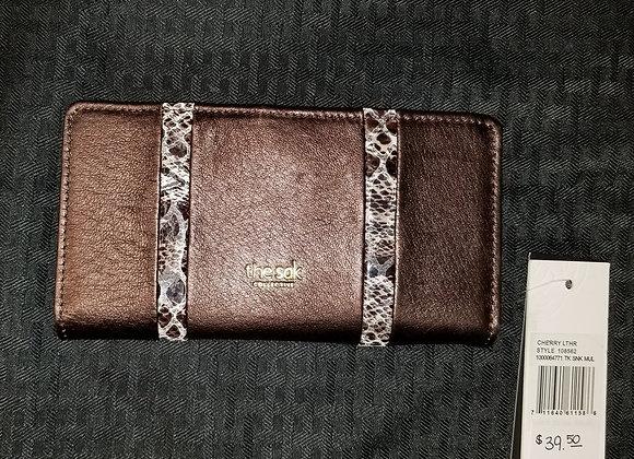 The Sak Cherry Leather Wallet