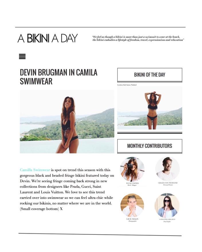 Bikini a day