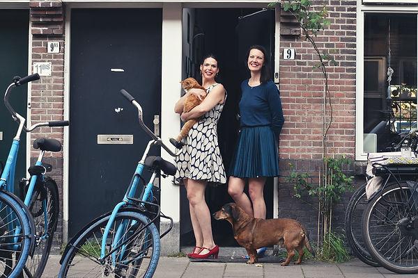 Foto (18) - Gina & Marjolein met huisdie