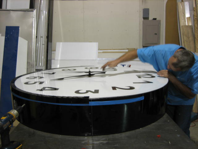 Custom Lighted Clock