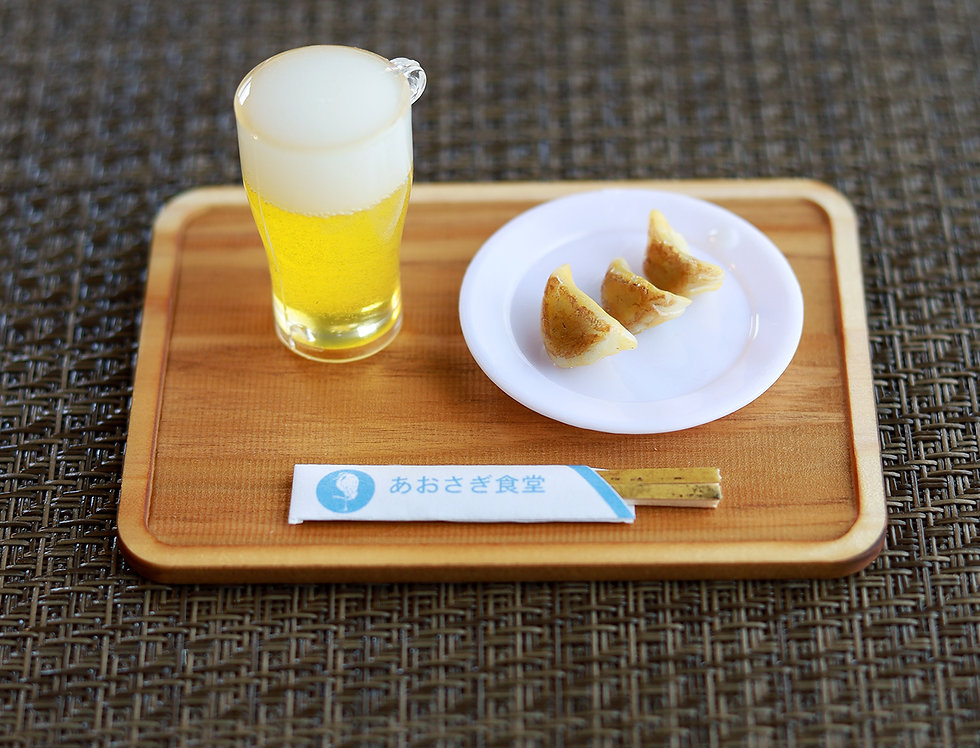 Blue herb dumpling & Obon set