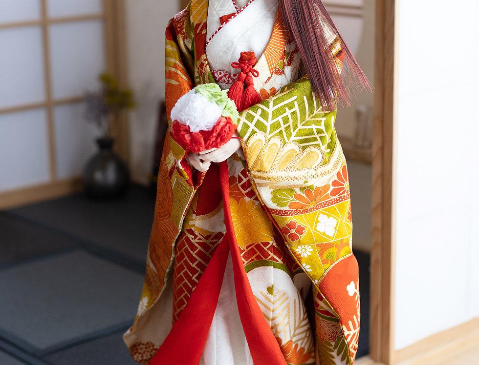 """KIMONO Wedding series """"Otori"""" (decoy)"""