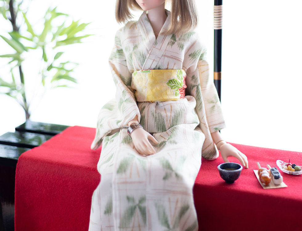 """KIMONO series """"Butterfly"""" with shaved ice"""