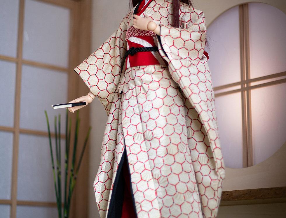 """KIMONO KIWAMI series """"Kei"""" with matcha set"""