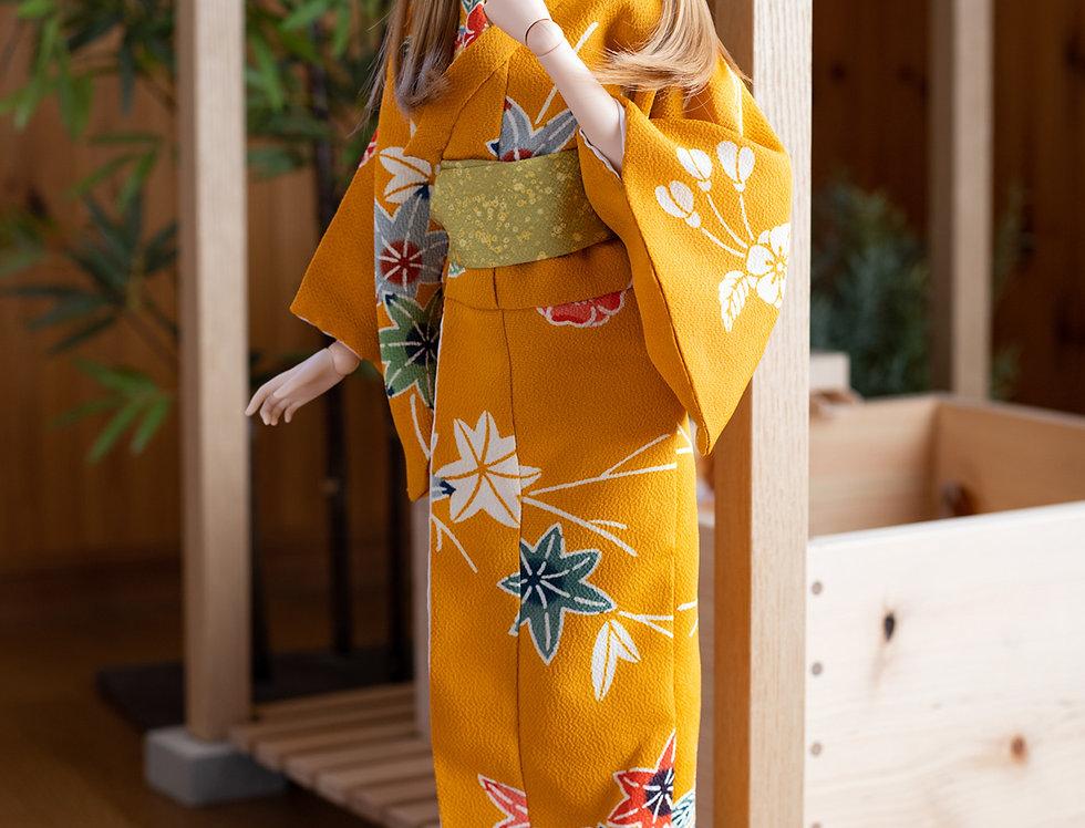"""KIMONO series """"Yukata"""" Kaede reserved"""