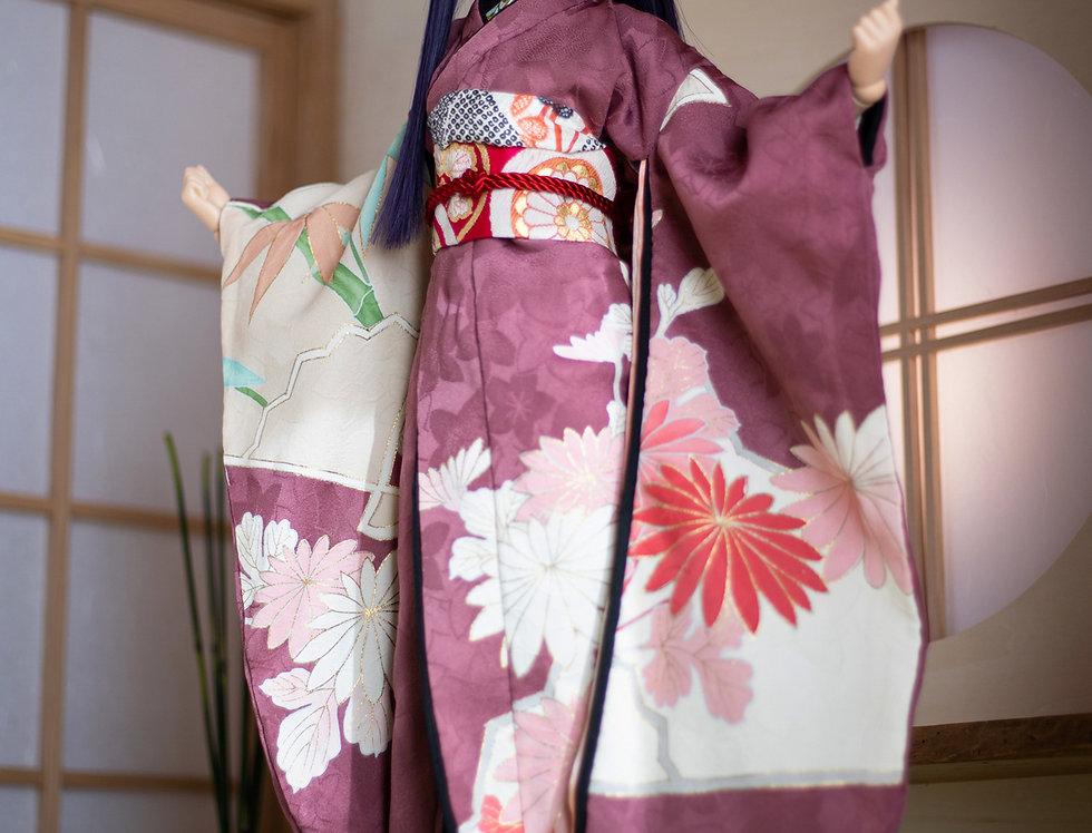 "KIMONO KIWAMI series ""Aya"" (Aya) with matcha set"