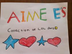 Aimee's LOL Dolls