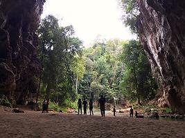 Tham Lod Cave, Pai, Thailand