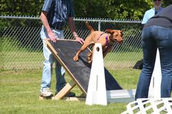 Reese showing off beginner skills.