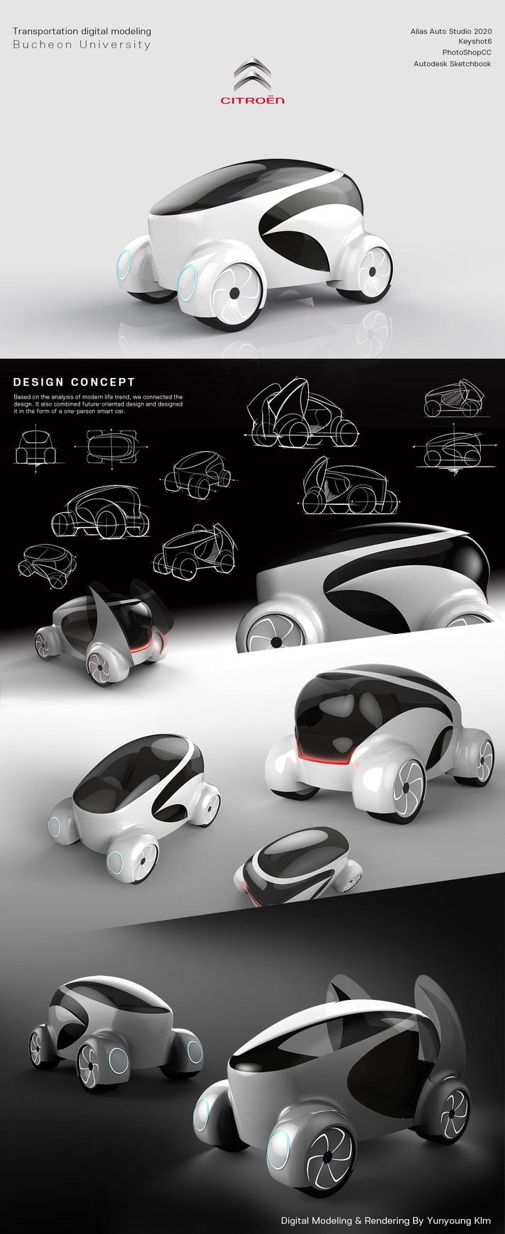 Personal futuristic smart car
