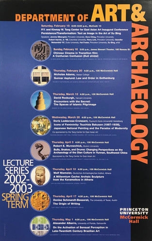 Spring Term Lecture Series poster