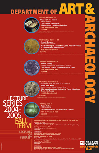 Fall Term Lecture Series poster
