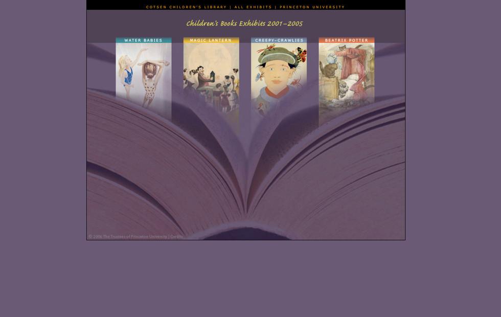 Online Children's Books Exhibits—2001-2005