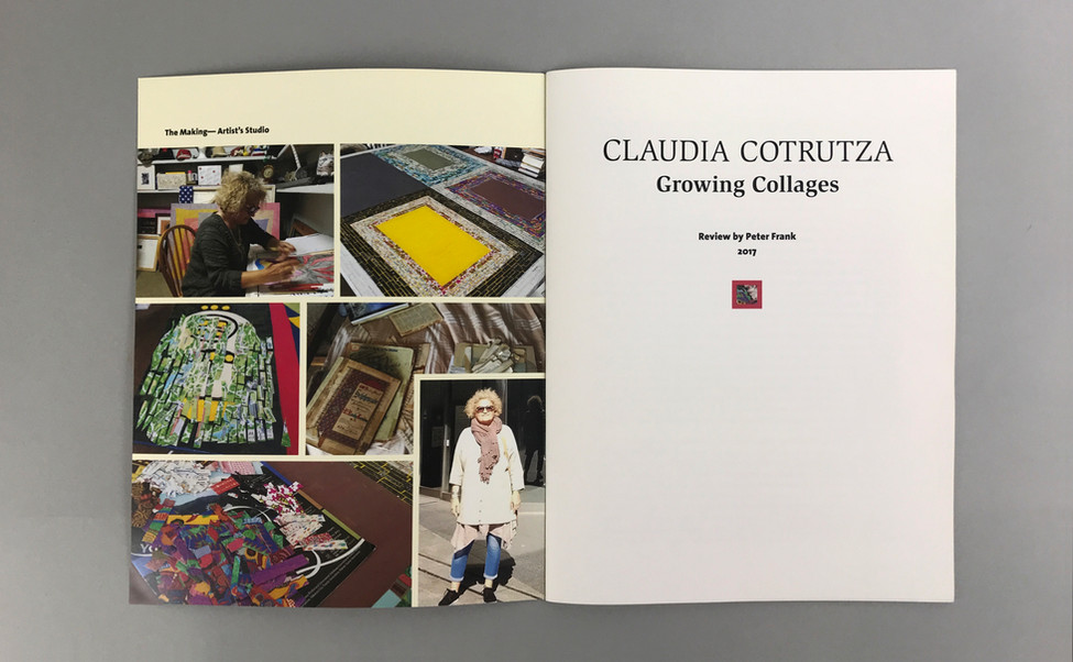 GROWING COLLAGES  Claudia Cotrutza