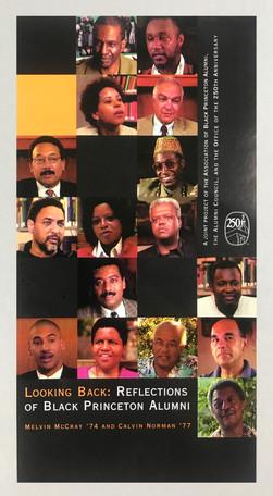250th celebration commemorative black alumni video jacket design
