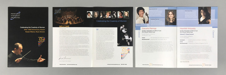PSO 35th Anniversary Season Brochure
