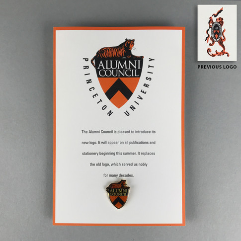 Alumni Council logo redesign under the leadership of the Alumni Council, the Office of Communications, and the Trustees of Princeton University
