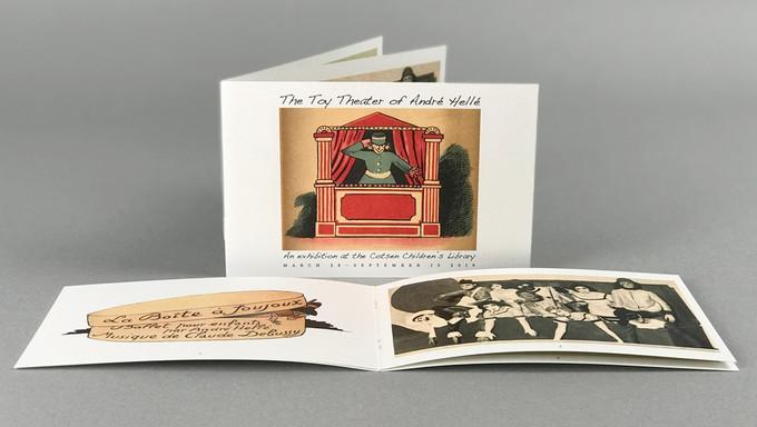 Gallery keepsake brochure